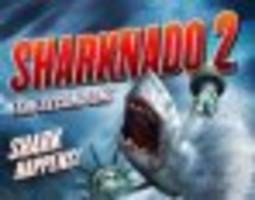 see what life is like on the set of 'sharknado 2'